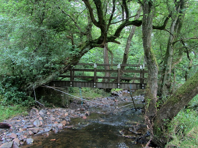 Footbridge over Monubent Beck