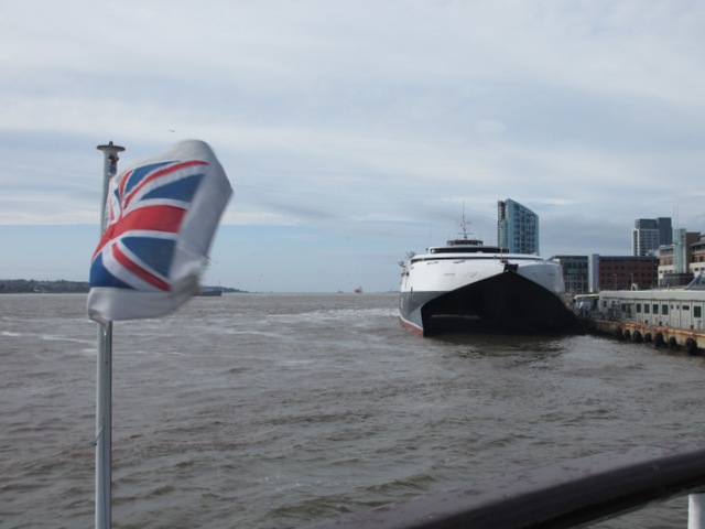 HSC Mannanan at the Pier Head