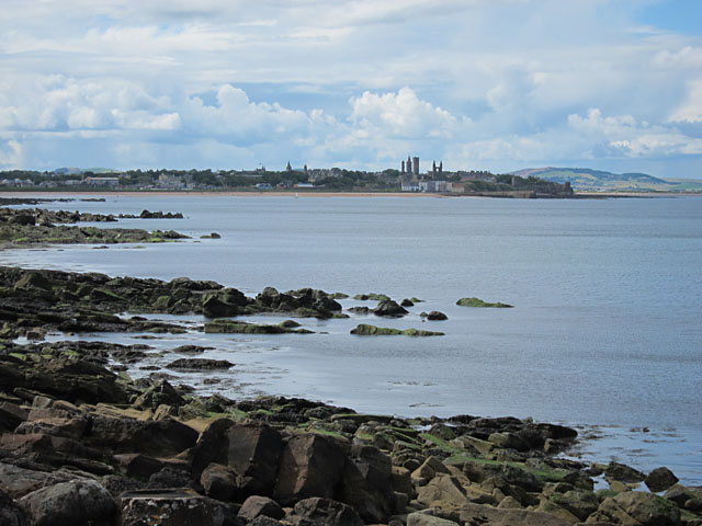 View towards St Andrews