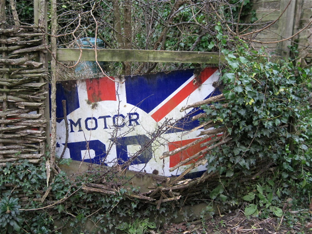 'Motor BP' enamel sign, Capton