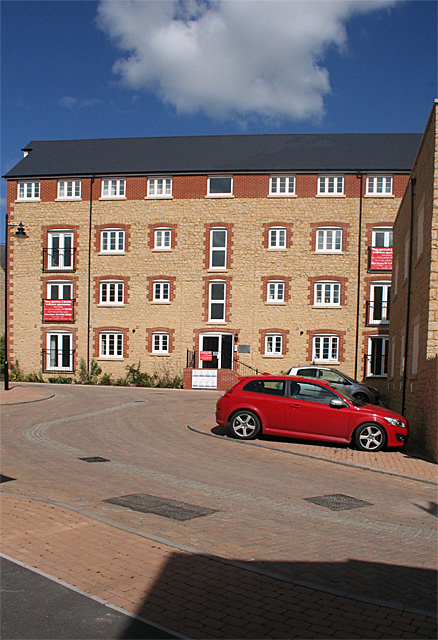 Milborne Port: new apartments at Old Tannery Way
