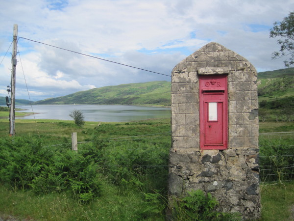 Post Box and Loch Spelve