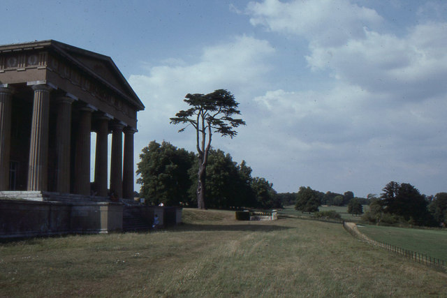 Northington Grange: main portico