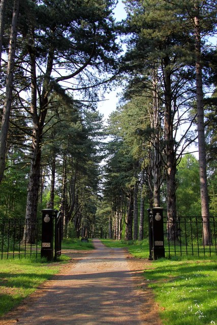 The entrance to the Scenic Drive at Sandringham
