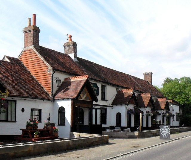 The May Garland public house, Burlow, East Sussex