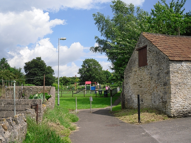 Footpath to play area