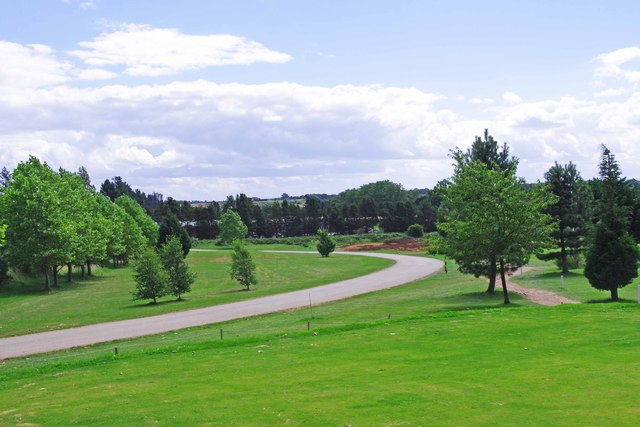 Burlish Park Golf Club access road, Kidderminster