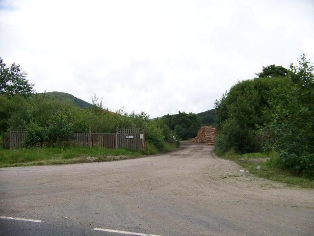 Argyll Sawmill Strachur