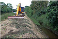 SK8466 : Cleaning the Mill Dam Dyke  by Alan Murray-Rust