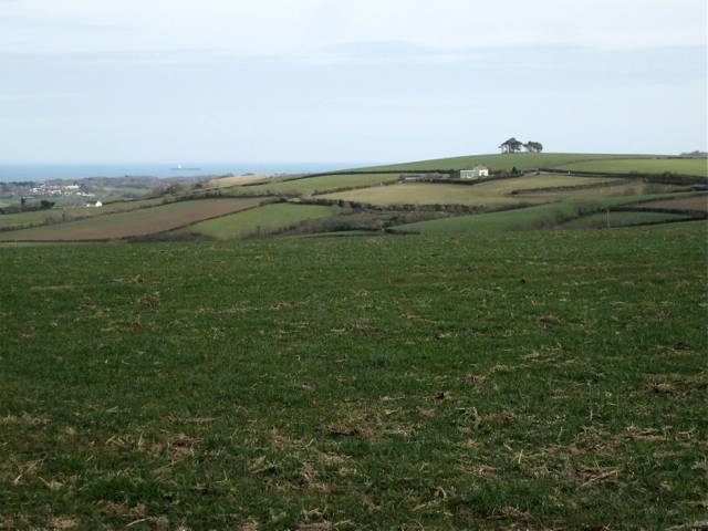 The view from the ridge southwest of Kingston