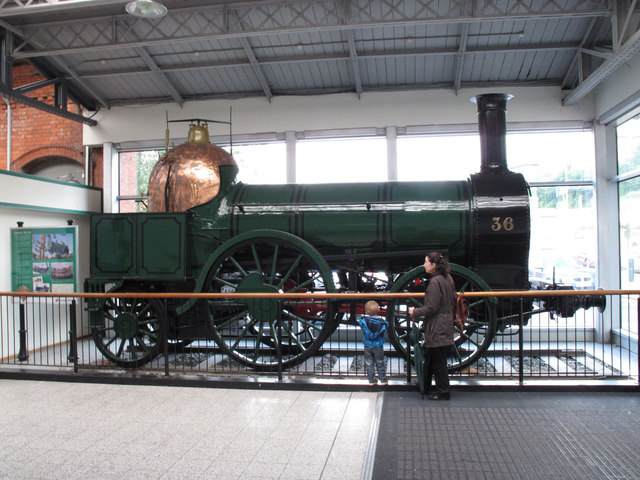 Engine 36 built 1847 at Cork Kent Station