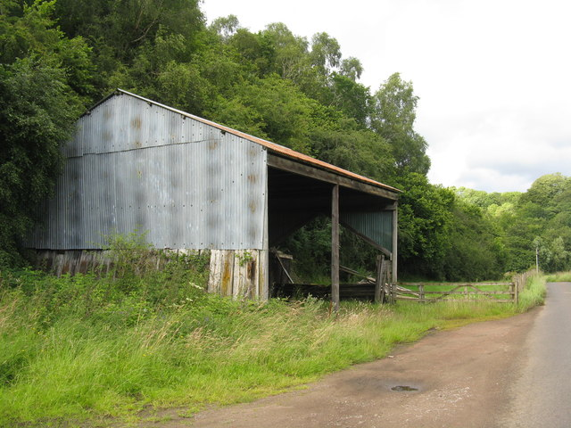 Barn on Corra Mill Road