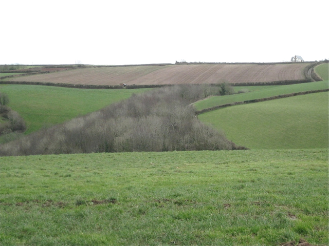 Landscape north of Downton Cross