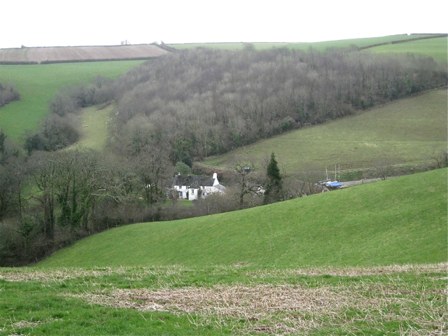 Little Coombe below Little Coombe Plantation