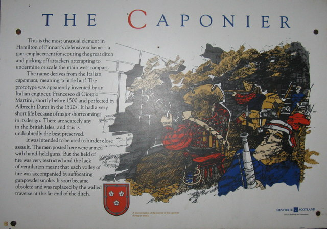 The Caponier at Craignethan