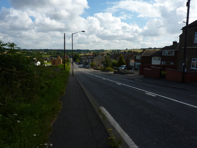 Houses between Stanfree and Clowne