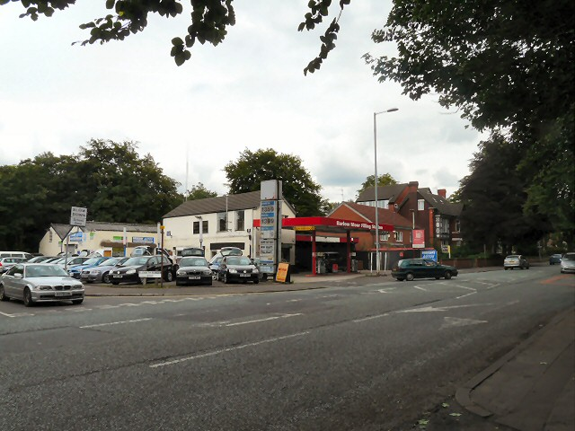 Barlow Moor Filling Station