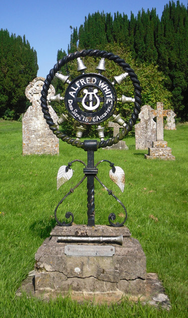 The Unusual Grave of Alfred White