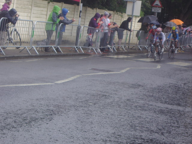 Women's Olympic road race, Queen's Road, Kingston