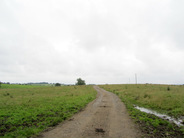 Access Track leading to Mere Syke Bridge
