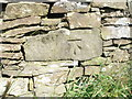 SE0707 : Cut benchmark on a wall at Wessenden Head by John Slater