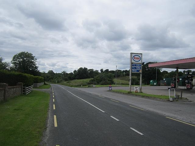 Petrol station, R232