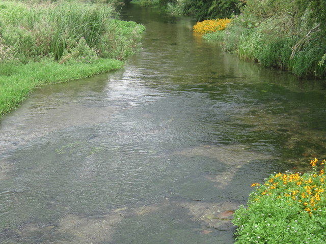 Foston Beck from Lowthorpe Bridge