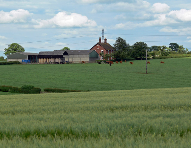 Farmland near The Elms Farm