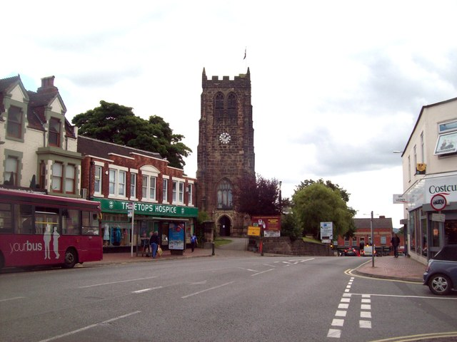 St Lawrence's Church in Heanor
