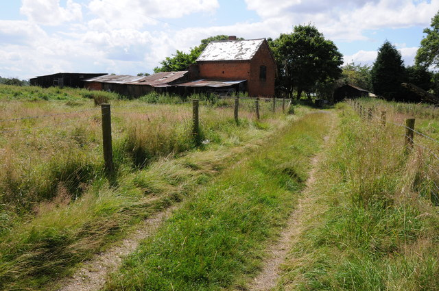 Farm buildings at Mappleborough Green