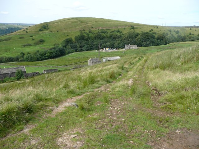 Track off London Road near Rough Top