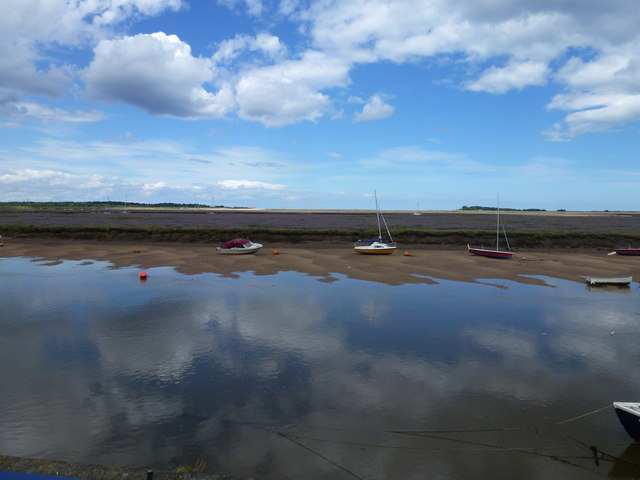 An incoming tide, Wells-Next-The-Sea