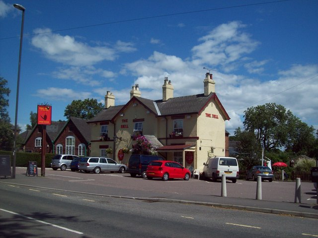 The Bell Public House in Smalley