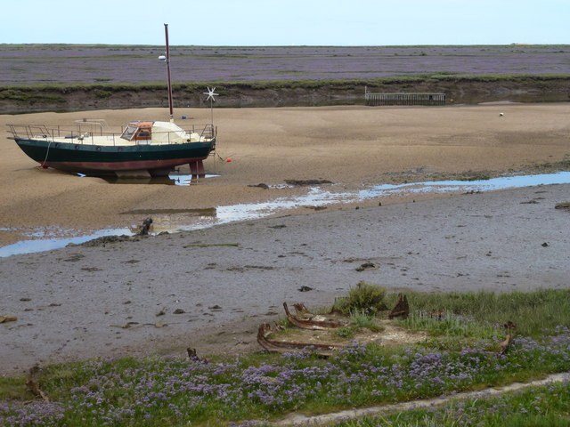 Shipwreck at Wells-Next-The-Sea