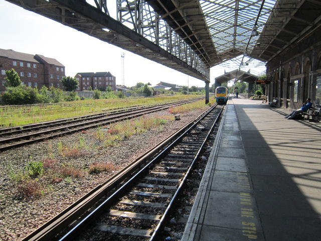 Platform 7a at Chester station