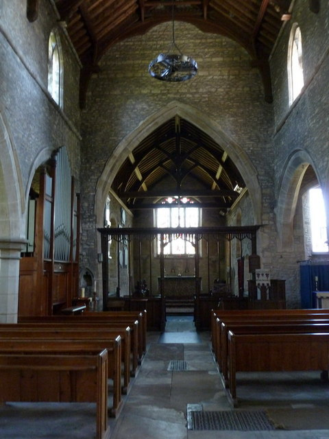 Church of St Remigius, Water Newton, Interior