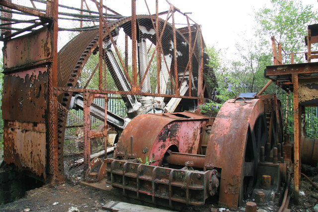 Hafod Works - drive to reversing rolling mill