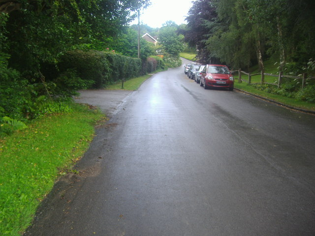 Spout Hill, Town Row