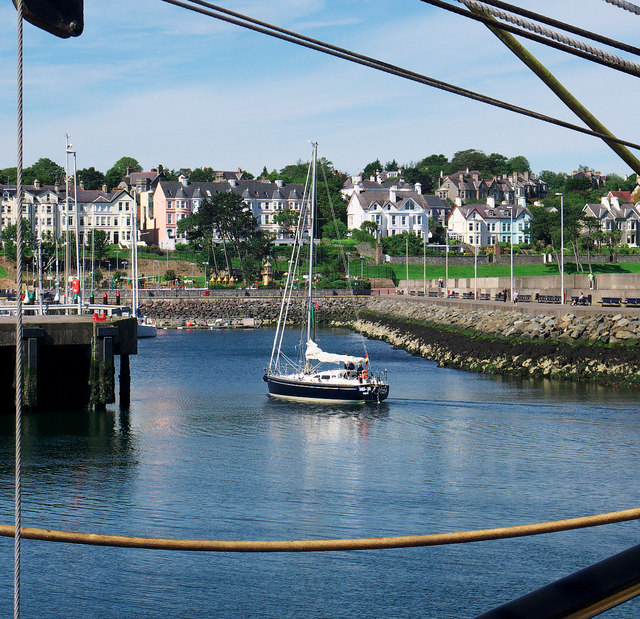 Yacht 'Hei-Jo' at Bangor