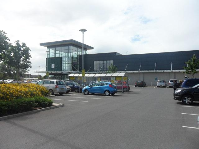 Morrisons Supermarket and Car Park, Denton Park