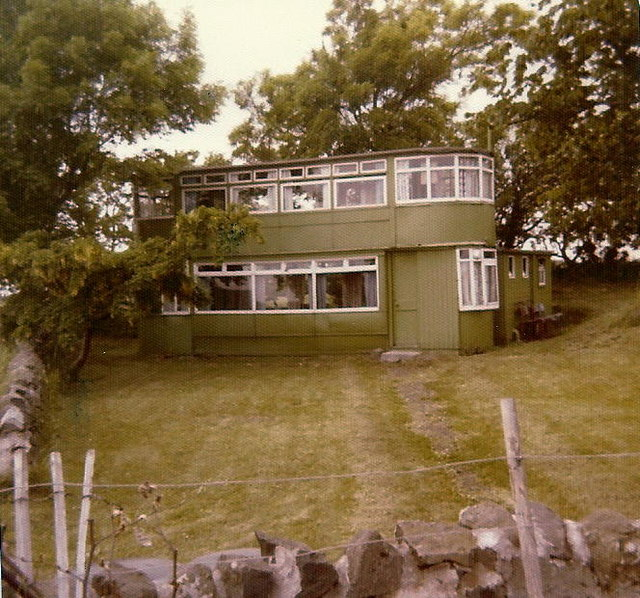 Tramcar House when it was a tram car in 1979