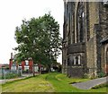 SJ9496 : St Stephen's churchyard by Gerald England