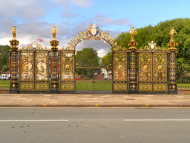 Warrington's Golden Gates