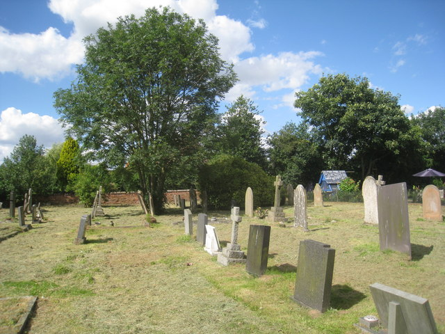 The cemetery, Normanton on Trent