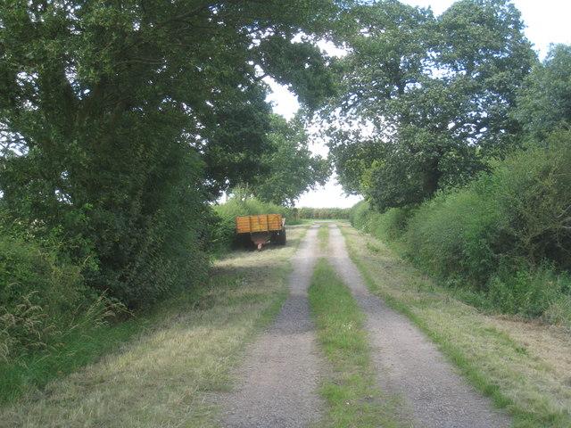 Trailer on Brimblebeck Lane
