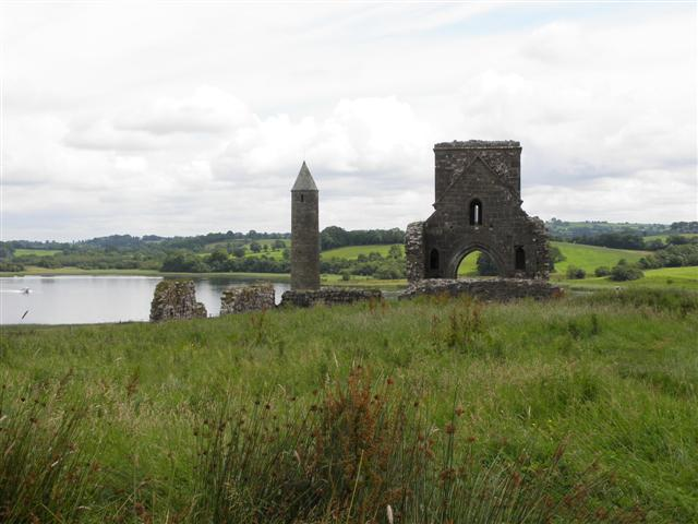 Round tower and ruin, Devenish