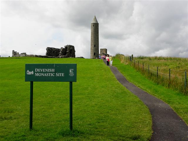 Notice, Devenish Monastic Site