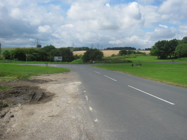 The B6427 down to join Blyth Road, the A634