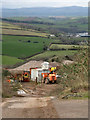 SX8553 : Private waste transfer site, Lapthorne Cross by Robin Stott