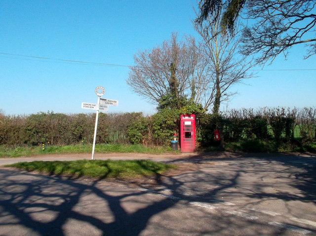 Phone Box at Chalkhouse Green